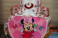 Diaper Cake Baby Minnie Mouse