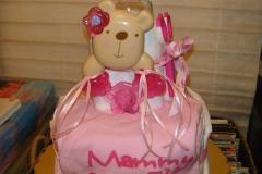 Diaper Cake Baby Girl