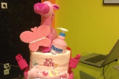 Diaper Cake Exclusive It's a Girl