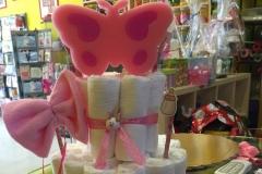 Diaper Cake Πεταλούδα