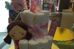 Diaper Cake Κοριτσάκι