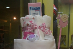 Diaper Cake Love Girl