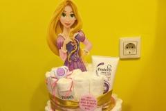 Diaper Cake Μαλλιά Κουβάρια