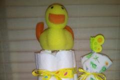 Diaper Cake για Baby Shower