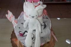 Diaper Cake Κουνελάκι
