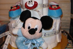 Diaper Cake Baby Mickey  Mouse