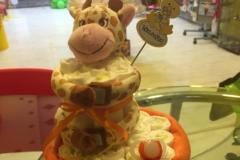Diaper Cake Καμηλοπάρδαλη