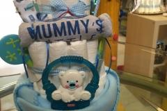 Diaper Cake Exclusive Αρκουδάκι