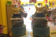 Diaper Cake Φεγγαράκι