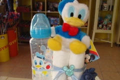 Diaper Cake Donald & Mickey