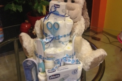 Diaper Cake Exclusive Chicco Set