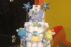 Diaper Cake Exclusive Καμηλοπάρδαλη