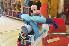 Diaper Cake Mickey Mouse Μηχανάκι