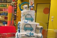 Diaper Cake Exclusive Αυτοκινητάκι