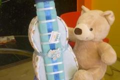 Diaper Cake Κιθάρα με Αρκουδάκι