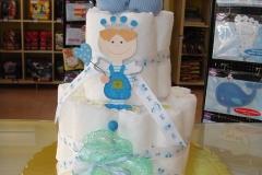 Diaper Cake Πρίγκiπας
