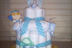 Diaper Cake Πρίγκιπας