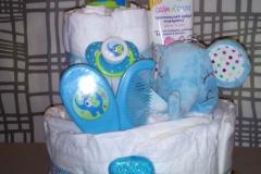 Diaper Cake Ελεφαντάκι