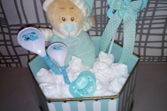 Diaper Box  it's a Boy
