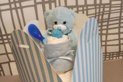 Diaper Box  it's a Boy
