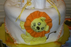 Diaper Cake Λιονταράκι