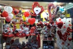 Μπαλόνια και Κατασκευές για τον  Βαλεντίνο