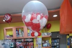 Γεμιστό Μπαλόνι με καρδιές