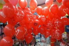Μπουκέτα Μπαλονιών με  Μηνύματα Αγάπης