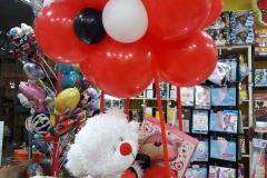Αρκουδάκι  με Μήνυμα Αγάπης σε Αερόστατο