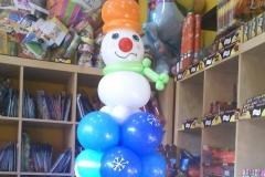 Κατασκευή χιονάνθρωπος