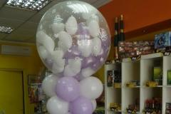 Κίονας με γεμιστό μπαλόνι