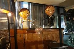 Μπαλόνια Γαμπρός & Νύφη