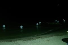 Μπαλόνια με Led στην Θάλασσα