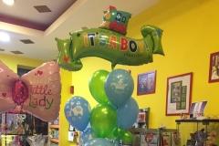 Μπουκέτο με μπαλόνι banner