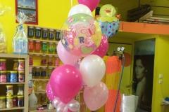 Μπουκέτο με μπαλόνι Bubble