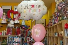 Μπουκέτο Welcome to the world  για νεογέννητο κοριτσάκι