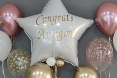 Μπουκέτο Congrats με Αστέρι 36''