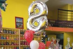 Μπουκέτο Happy Birthday με νούμερο