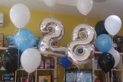 Μπουκέτο Happy Birthday με νούμερα