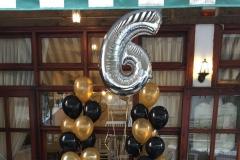 Μπουκέτα Ηappy Birthday με νούμερο