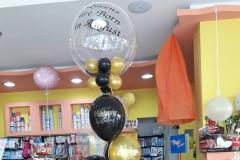 Μπουκέτο με Μπαλόνι Aqua