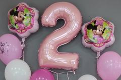 Μπουκέτα μπαλονιών Minnie