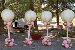 Μπαλόνια ντυμένα με τούλι