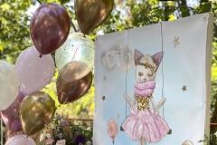 Μπαλόνια για Θέμα Γατούλα