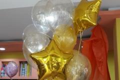 Μπουκέτο με Χρυσά Αστέρια & Glitter