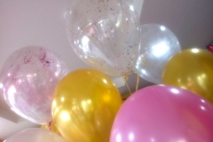 Μπαλόνια με glitter