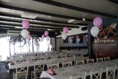 Δυάδες μπαλόνια για τραπέζι