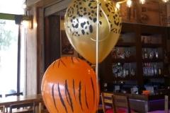 Τριάδες μπαλόνια για τραπέζι